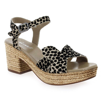 Chaussure Aliwell modèle TAMGRAM, Beige Leopard - vue 0