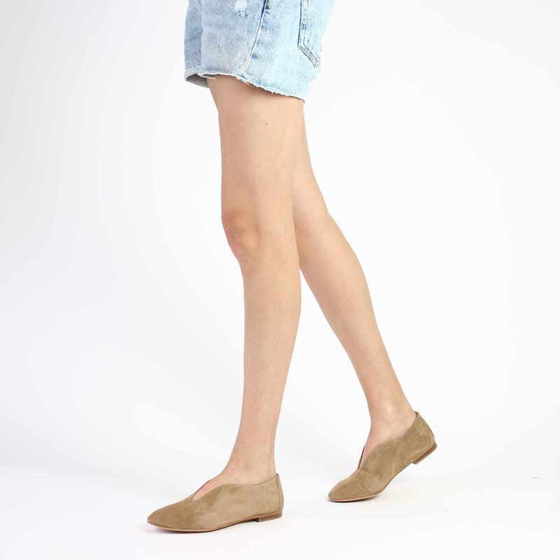 Chaussure Sms BRUNILDE beige couleur Taupe - vue 0