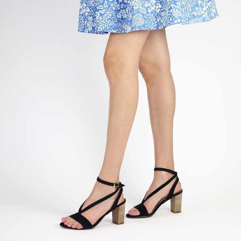Chaussure COR by Andy 6292 bleu couleur Marine - vue 0