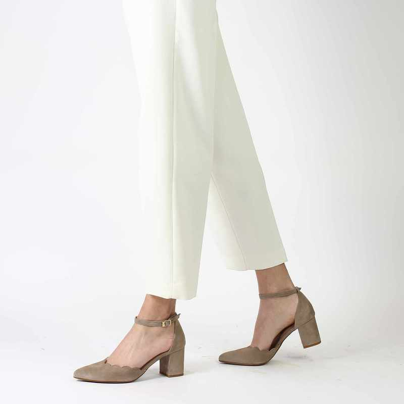 Chaussure COR by Andy 6326 beige couleur Taupe - vue 0