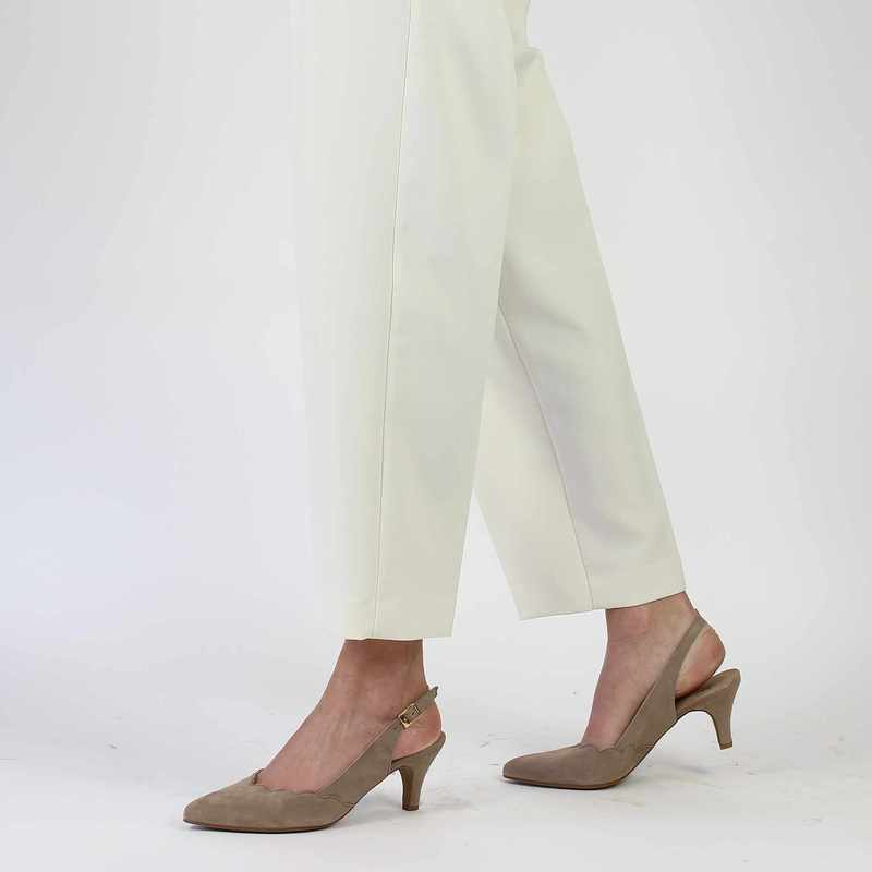 Chaussure COR by Andy 5936 beige couleur Taupe - vue 0