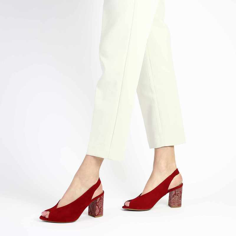 Chaussure COR by Andy 5930 rouge couleur Rouge - vue 0