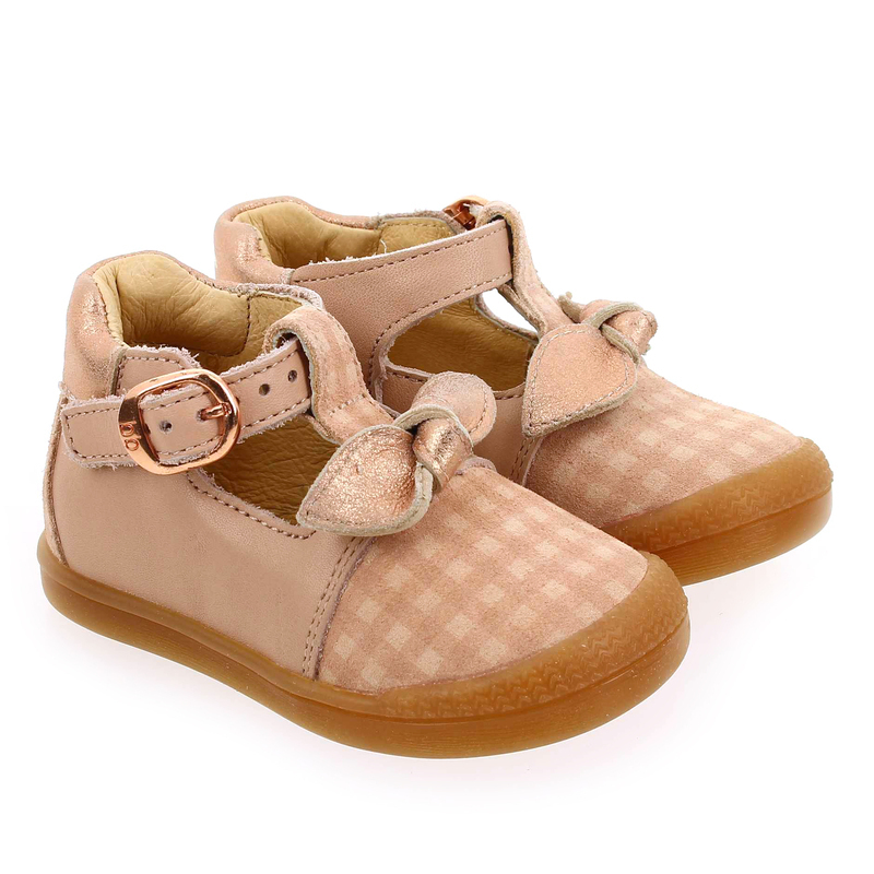 Chaussure Babybotte PATINE rose couleur Nude  - vue 0