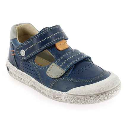 Chaussure Noël Kids  modèle YAGO, Marine - vue 0