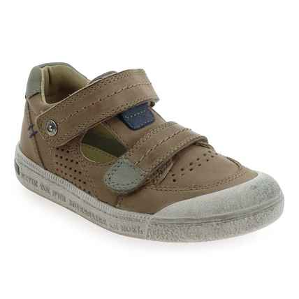 Chaussure Noël Kids  modèle YAGO, Taupe - vue 0