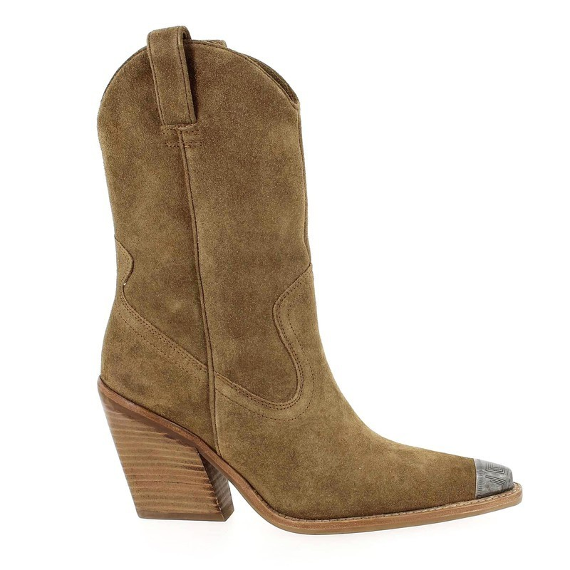 Chaussure Bronx 34139 beige couleur Taupe  - vue 1