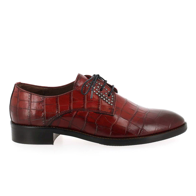 Chaussure Muratti RIODELL rouge couleur Rouge croco - vue 1
