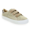 Chaussure No Name modèle ARCADE STRAPS SWING GOAT SUEDE, Platine Beige - vue 0