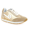 Chaussure No Name modèle CITY RUN JOGGER SUEDE GLINT, Beige Or - vue 0