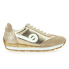 Chaussure No Name modèle CITY RUN JOGGER SUEDE GLINT, Beige Or - vue 1