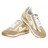 Chaussure No Name modèle CITY RUN JOGGER SUEDE GLINT, Beige Or - vue 2