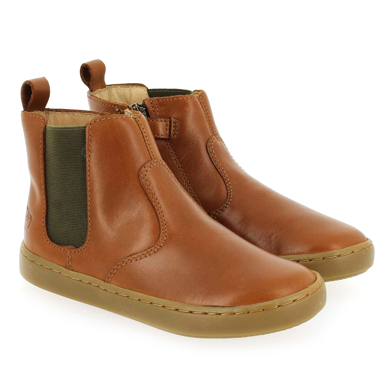 Chaussure Shoopom PLAY CHELSEA camel couleur Camel - vue 0