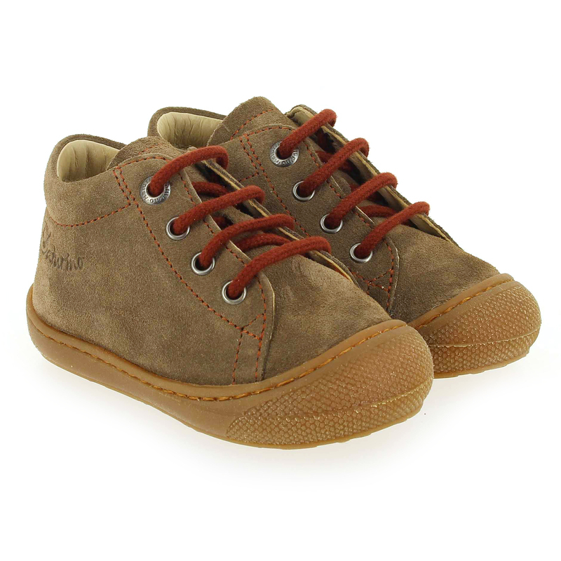 Chaussure Falcotto by Naturino COCOON marron couleur Taupe Rouge - vue 0