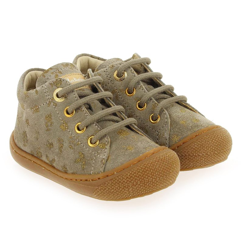 Chaussure Falcotto by Naturino COCOON F gris couleur Taupe Or - vue 0