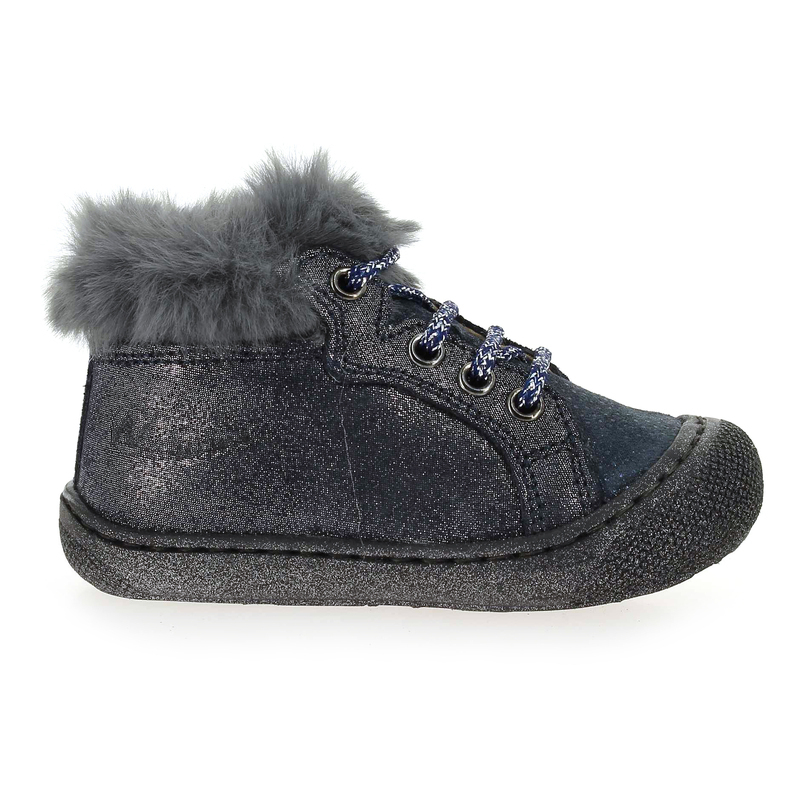 Chaussure Falcotto by Naturino BARKS bleu couleur Marine Gris - vue 1