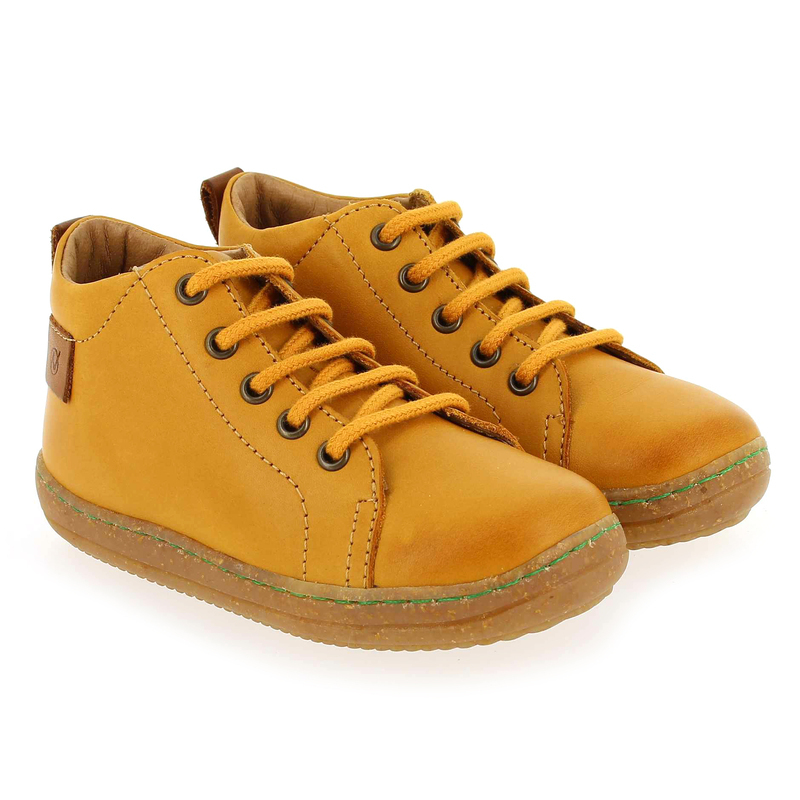 Chaussure Falcotto by Naturino VENTO jaune couleur Ocre - vue 0