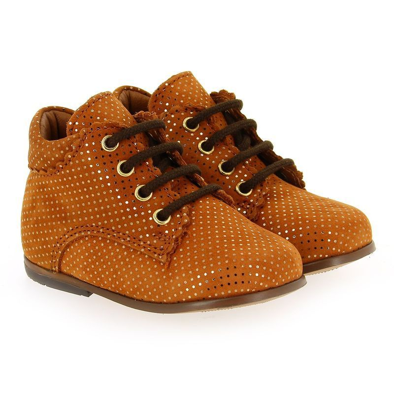 Chaussure Bellamy CHARLOTTE camel couleur Camel Or - vue 0