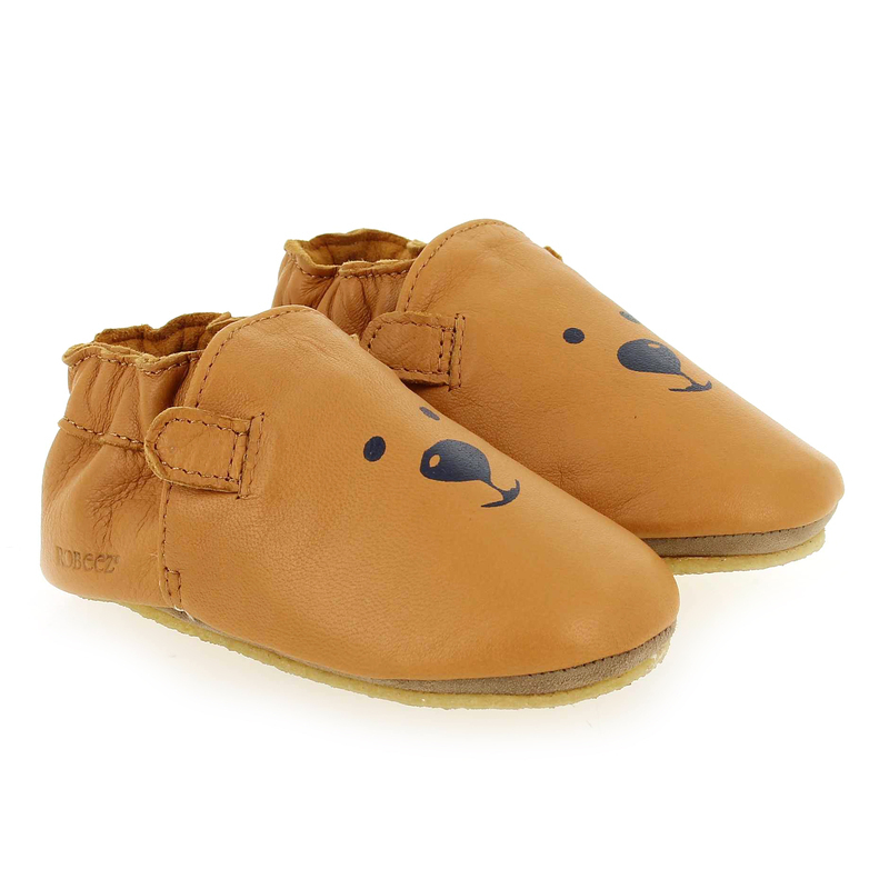 Chaussure Robeez SWEETY BEAR CRP camel couleur Camel - vue 0