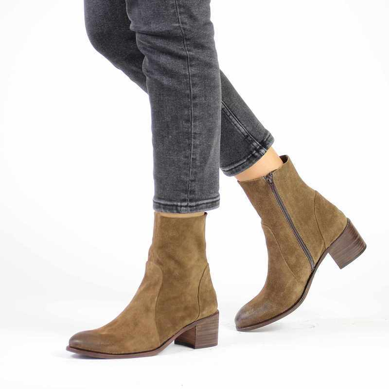 Chaussure Aliwell ALIAS marron couleur Taupe  - vue 0