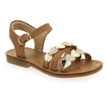 Chaussure Shoopom modèle HAPPY LIGHT, Camel Or - vue 0