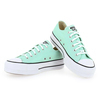 Chaussure Converse modèle CHUCK TAYLOR  ALL STAR LIFT OX, Turquoise - vue 3