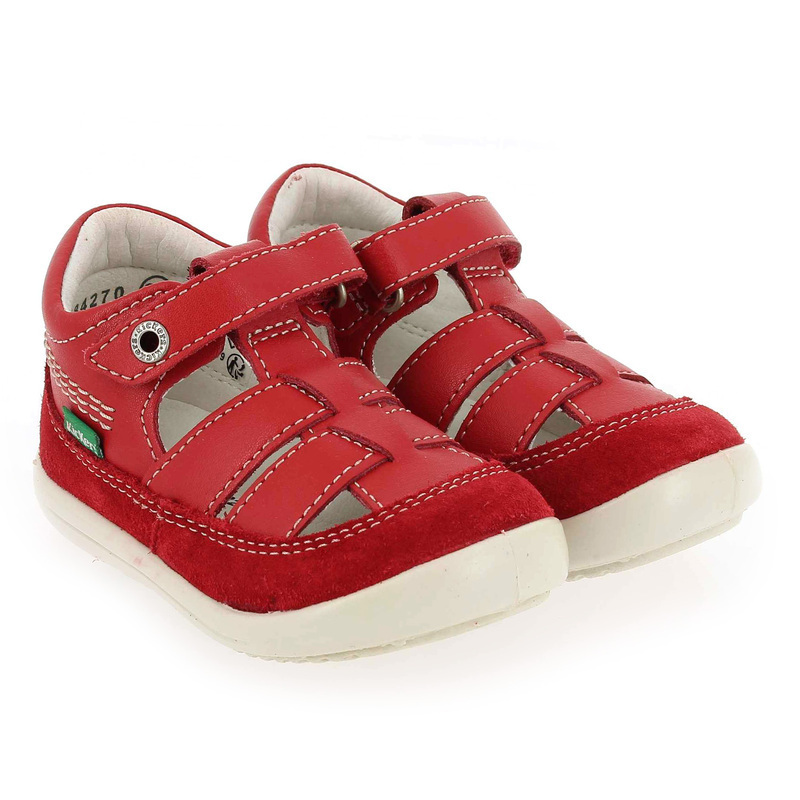 Chaussure Kickers KITS rouge couleur Rouge - vue 0