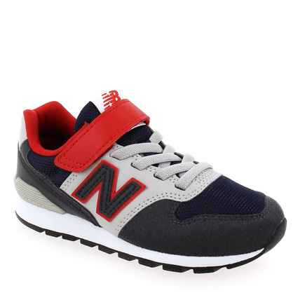 Chaussure New Balance modèle YV996MNR S121, Marine Rouge - vue 0