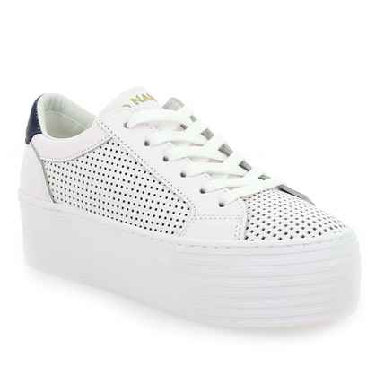 Chaussure No Name modèle SPICE SNEAKER SAVAGE PERF, Blanc Marine - vue 0