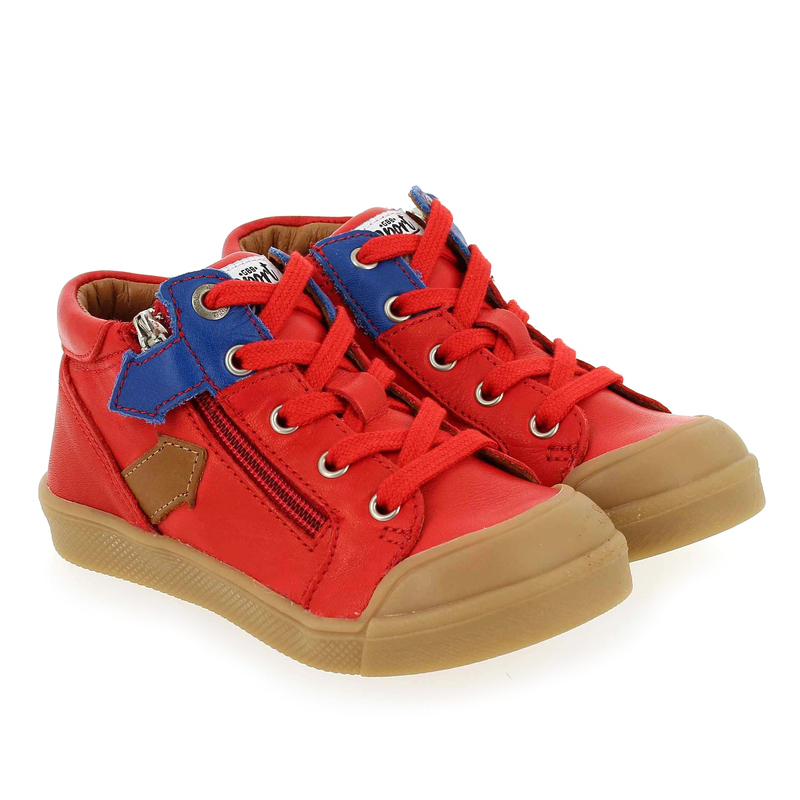 Chaussure GBB IONNIS rouge couleur Rouge - vue 0