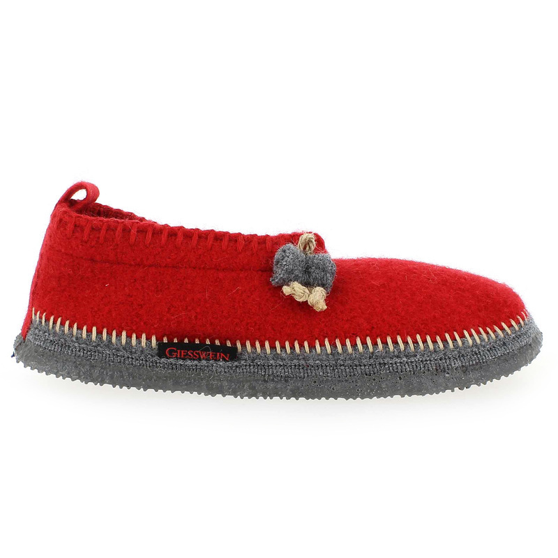 Chaussure Giesswein PUSTERWALD Rouge couleur Rouge - vue 1